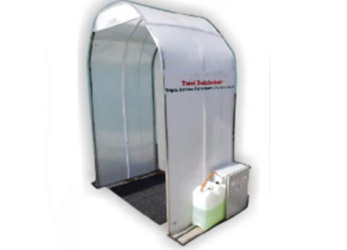 tunel dezinfetant tripla actiune